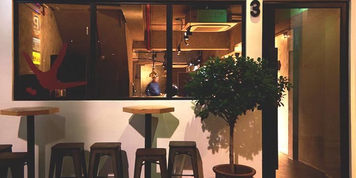 Exterior of Lerouy in Tanjong Pagar, Singapore