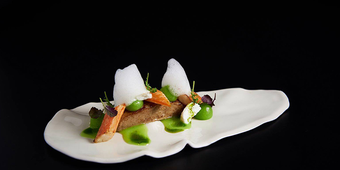 Foies Gras & Crab from Lerouy in Tanjong Pagar, Singapore