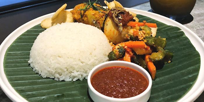 Nasi Lemak from Local Restaurant & Bar at 30 Bencoolen in Bugis, Singapore