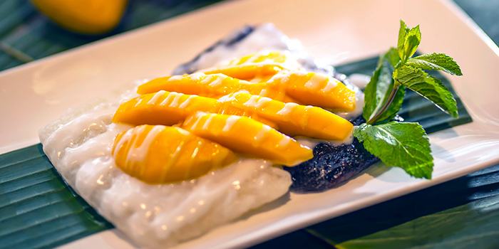 Mango Sticky Rice, Cafe Siam, Kennedy Town, Hong Kong
