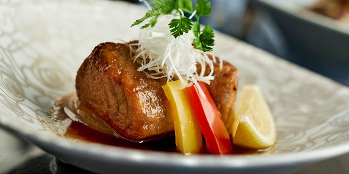 Pan Fried Tuna Head from NAMI at Shangri-La Hotel in Tanglin, Singapore
