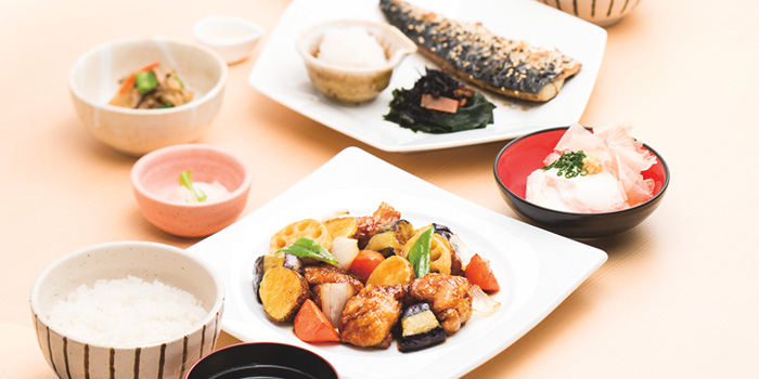 Food Spread from Ootoya (The Clementi Mall) in Clementi, Singapore