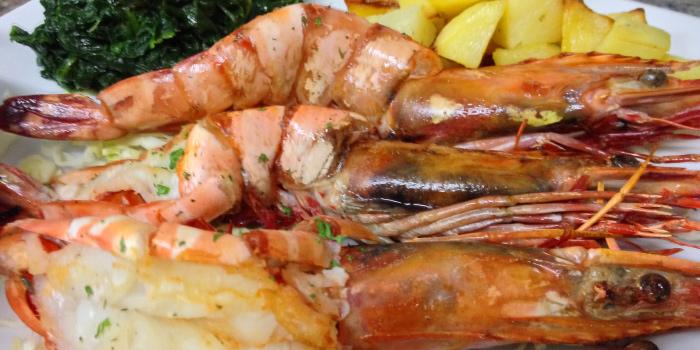 Prawn BBQ_Special Menu fromSalute Italian Restaurant in Patong, Phuket, Thailand.