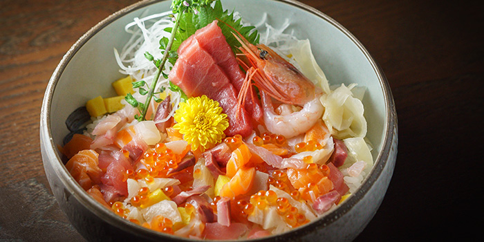 Premium MazeChirashi from Kushi Japanese Dining in Paya Lebar, Singapore