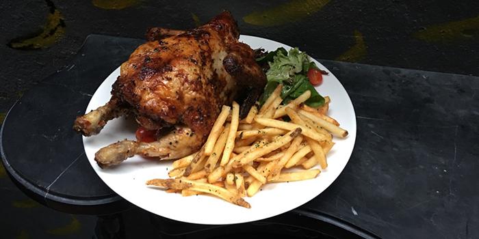 Rotisserie Free Range Chicken, Djiboutii, Wan Chai, Hong Kong