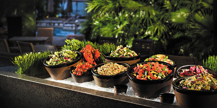 Salad Bar, The Grill, Wan Chai, Hong Kong