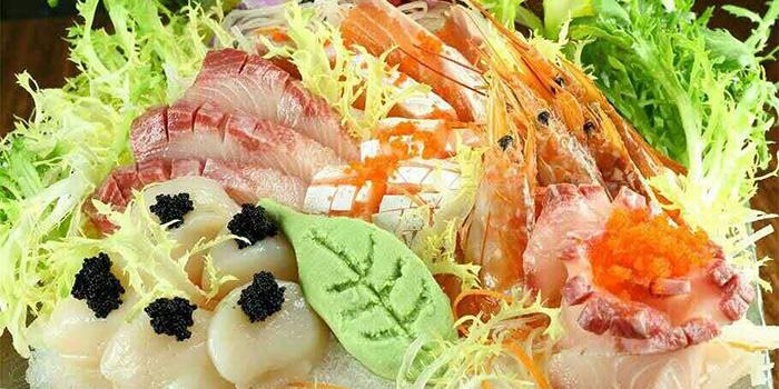 Sashimi, Matsumoto Japanese Cuisine, Mong Kok, Hong Kong