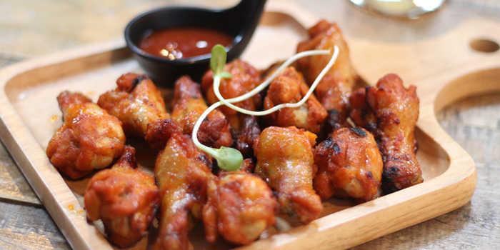 Spicy Buffalo Wings from Wishbeer Home Bar at 1491 Soi Sukhumvit 67, Phra Khanong Nuea, Bangkok
