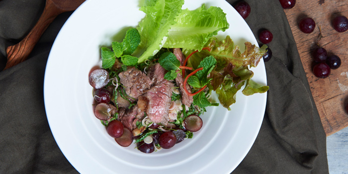 Spicy Grilled Beef Salad from Khao at 64, Sukhumvit Soi 51, Khlong Tan Nuea, Bangkok