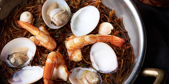 Squid Ink Seafood Fideua from Gaig in Tanjong Pagar, Singapore