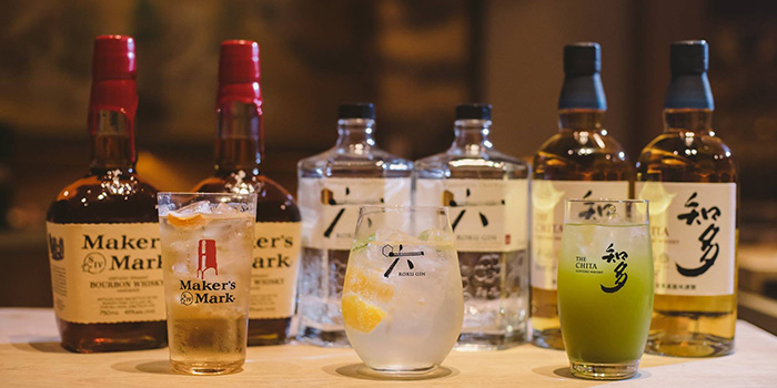 Drinks from MAI by Dashi Master Marusaya in Outram, Singapore