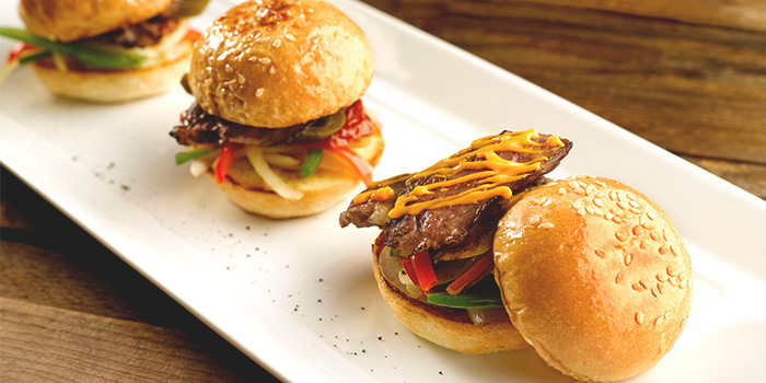 Beef Sliders from The Best Brew at Sheraton Singapore Riverview in Robertson Quay, Singapore