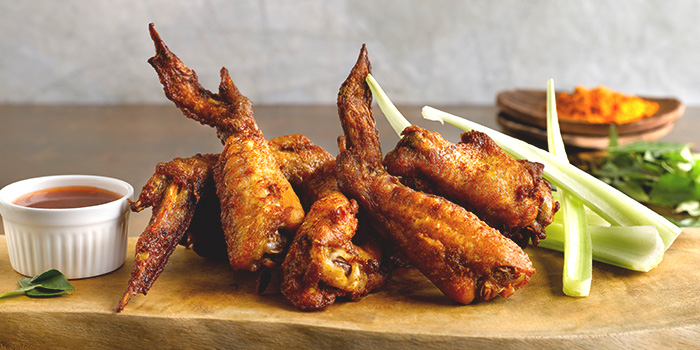 Devilled Wings from The Best Brew at Sheraton Singapore Riverview in Robertson Quay, Singapore
