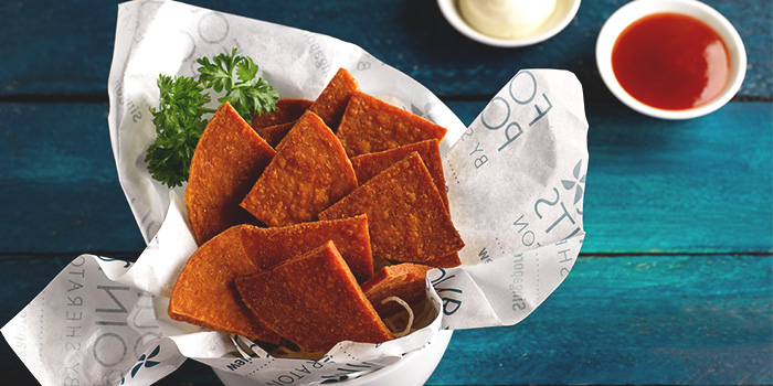 Luncheon Meat Chips from The Best Brew at Sheraton Singapore Riverview in Robertson Quay, Singapore