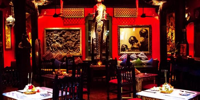 Interior at Ji Restaurant, Bali