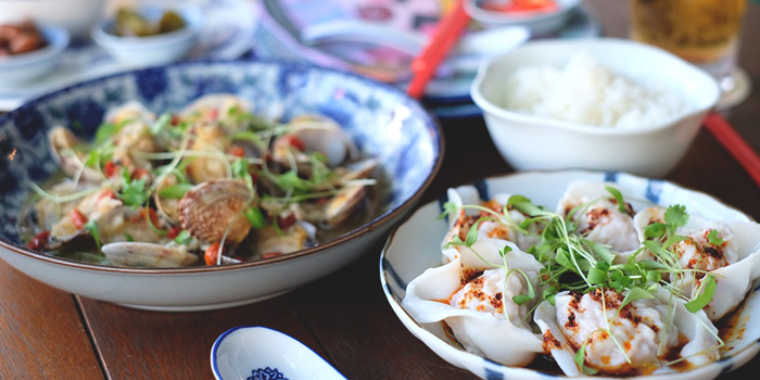 Dumplings & Clams from Xiao Ya Tou in Duxton, Singapore