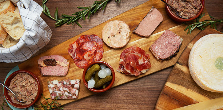 Cold Cuts Platter from 13% Wine Bistro @ Telok Ayer in Telok Ayer, Singapore