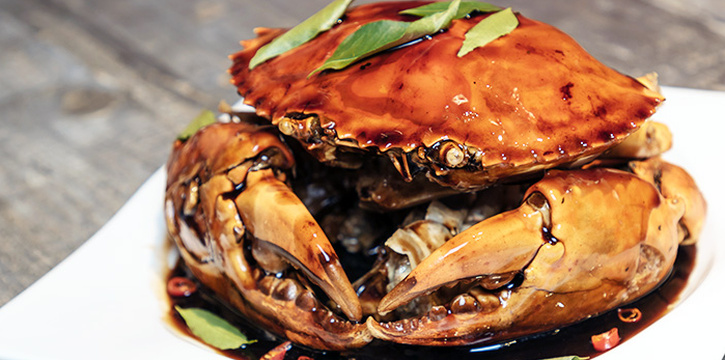 Balsamic Crab from HolyCrab in City Hall, Singapore