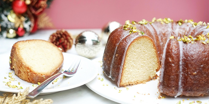 Coconut Spiced Rum Bundt Cake from Glasshouse by DHM at The Heeren in Orchard, Singapore