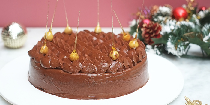 Chocolate Walnut Fruitcake from Glasshouse by DHM at The Heeren in Orchard, Singapore