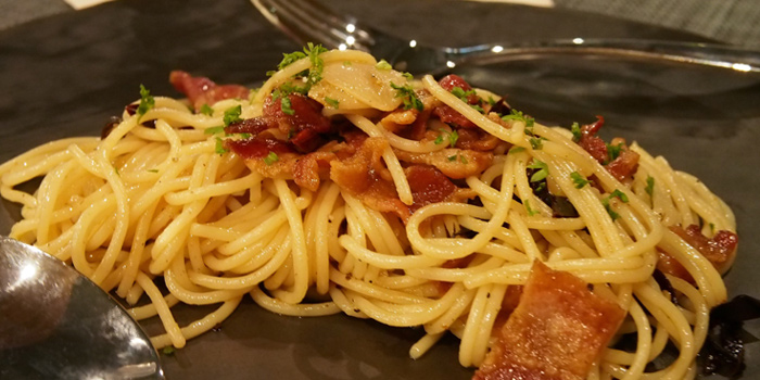 Spaghetti from Infustion Eatery & Bar at Yen Akat Road, Yanawa, Bangkok