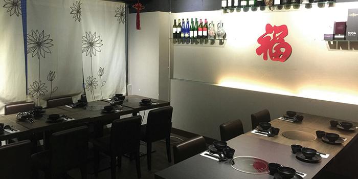 Dining Area, Seansin Seafood Hotpot Experts, Causeway Bay, Hong Kong