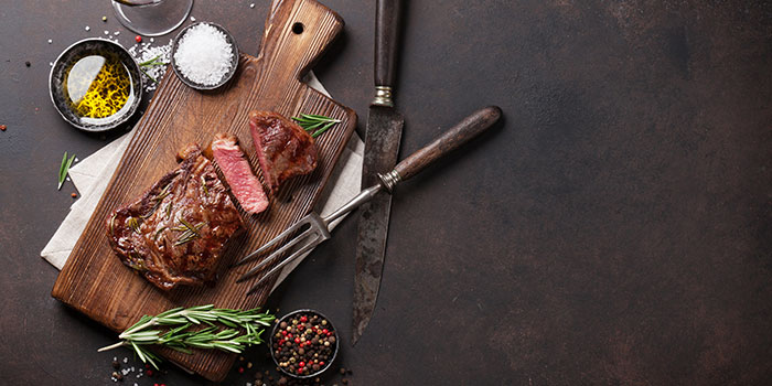 Steak from 665°F at Andaz Singapore in Bugis, Singapore