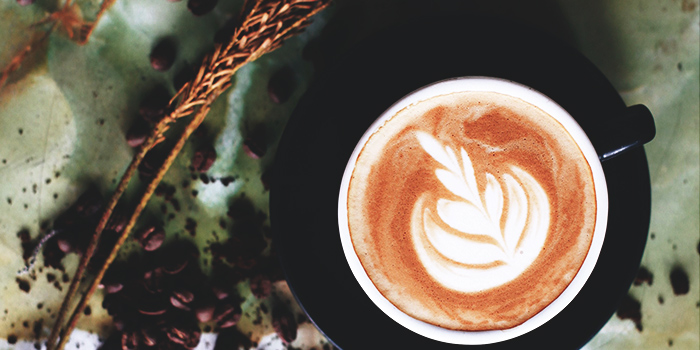 Latte from Afterwit - Mexican Taqueria in Bugis, Singapore