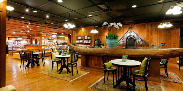 Ambience from Cafe Nine Bangkok Jim Thompson at 9, Surawong Road, Bangkok