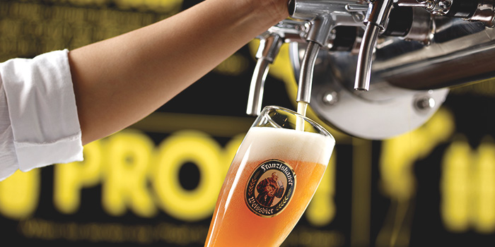 Draft Beer from Brotzeit (VivoCity) in Harbourfront, Singapore