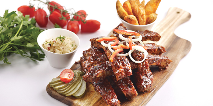 Honey Bavarian Ribs from Brotzeit Westgat) in Jurong, Singapore