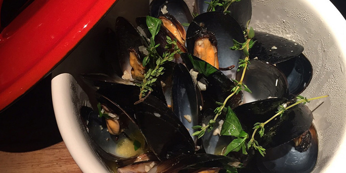 Baked Mussels from It
