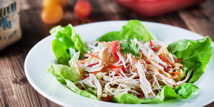 Bang Bang Smoked Chicken Salad, The Salted Pig, Tsim Sha Tsui, Hong Kong