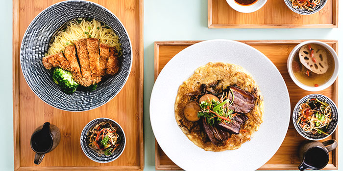 Board Sets from Typhoon Cafe at Plaza Singapura in Dhoby Ghaut, Singapore