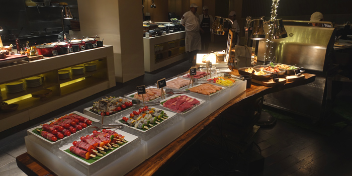 Buffet Line from 57th Street at JW Marriott Hotel Sukhumvit 57 Klongtan Nua Wattana Bangkok
