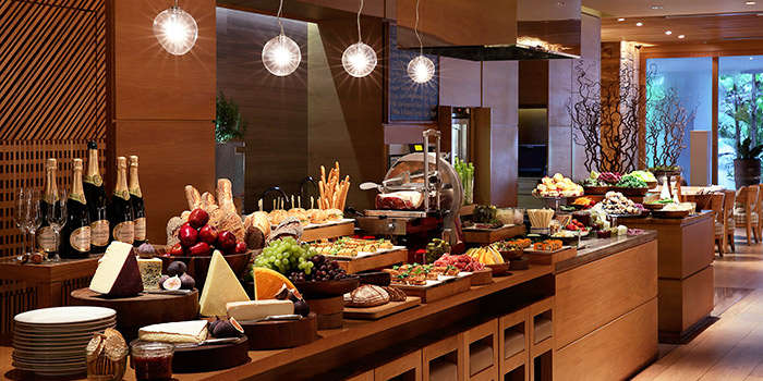 Buffet Line from 10 SCOTTS in Grand Hyatt Singapore in Orchard, Singapore