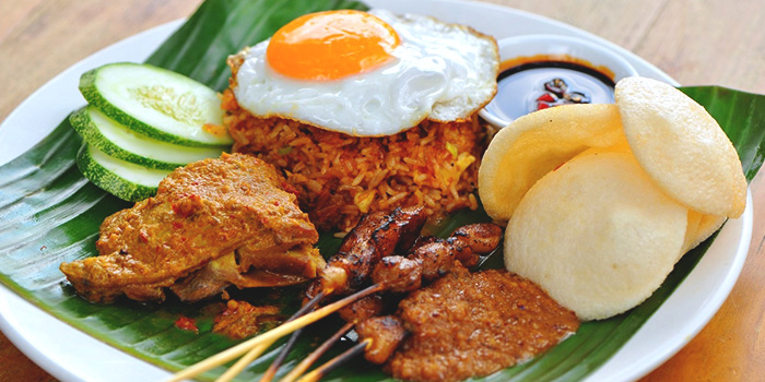 Nasi Goreng from Prive CHIJMES in City Hall, Singapore