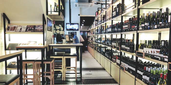 Interior of Elbow Room by Drinks & Co in Club Street, Singapore