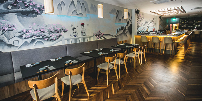 Dining Area of Don & Tori at Tras Street in Tanjong Pagar, Singapore
