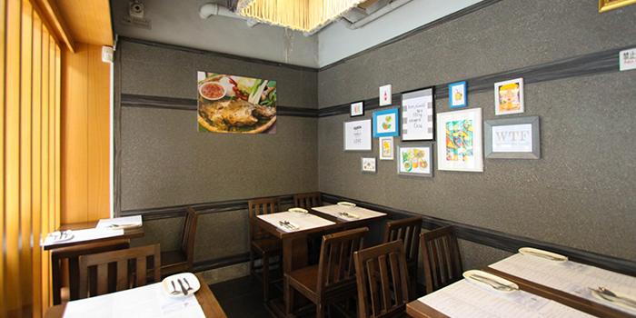 Dining Area, Krua Walaiphan, Sai Ying Pun, Hong Kong