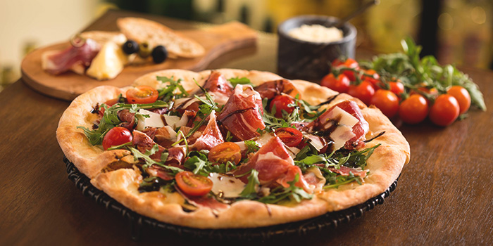 Parma Pizza from Drinks & Co Grill in Club Street, Singapore