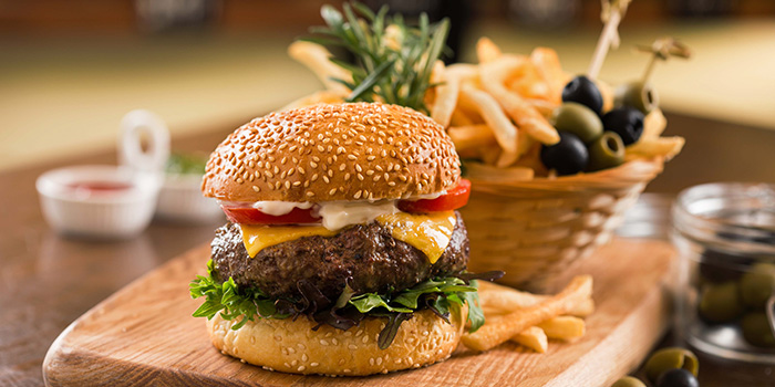 Wagyu Burger from Elbow Room by Drinks & Co in Club Street, Singapore