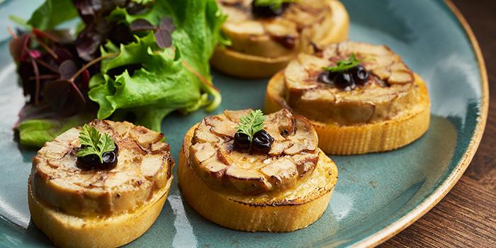 Foie Gras Au Gratin from Dusk Restaurant & Bar at Mount Faber in Habourfront, Singapore