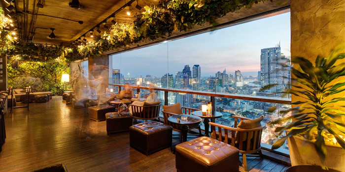 Ambience from Scarlett Wine Bar & Restaurant at Pullman Bangkok Hotel G 37th Floor, 188 Silom Rd, Bangrak, Bangkok