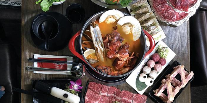 Signature Dishes, Seansin Seafood Hotpot Experts, Causeway Bay, Hong Kong