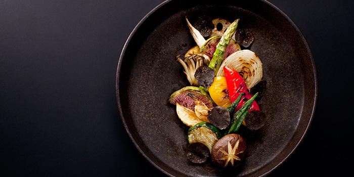 Grilled Mushroom, Hide Yamamoto, Coloane-Taipa, Macau