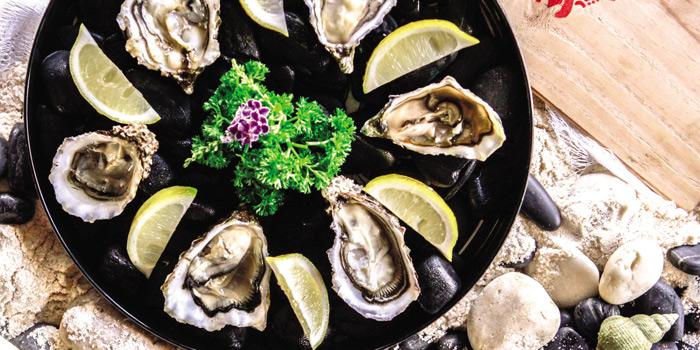 Import fresh Oysters  from Scarlett Wine Bar & Restaurant at Pullman Bangkok Hotel G 37th Floor, 188 Silom Rd, Bangrak, Bangkok