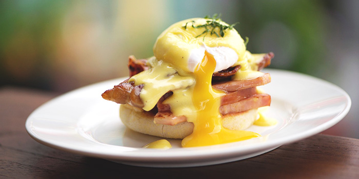 Eggs Benedict from Privé Keppel Bay in Keppel, Singapore