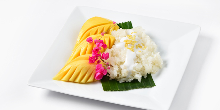 Mango Sticky Rice from Cafe Nine Bangkok Jim Thompson at 9, Surawong Road, Bangkok