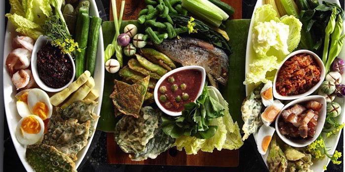 Namprik Selection from Number Five Restaurant & Cafe at 202,222 Bang Khanun Bang Kruai, Nonthaburi